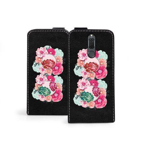 Huawei Mate 10 Lite - etui na telefon Flip Fantastic- róże