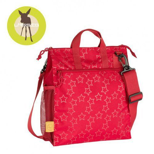casual label torba do wózka reflective star flaming marki Lassig