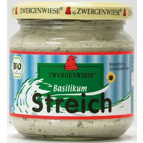 Zwergenwiese Pasta słonecznikowa z bazylią 180g bio (bezglutenowa) - (4019736002598)