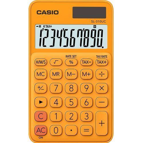 Kalkulator CASIO SL-310UC-RG Pomarańczowy, SL-310UC-RG