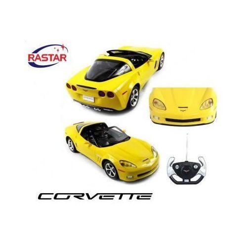 Duży licencjonowany zdalnie sterowany chevrolet corvette c6 targa (1:12) + bezprzewodowy pilot. marki Rastar