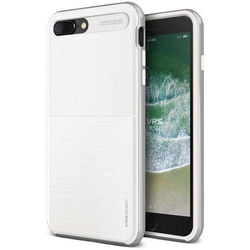 Etui VRS Design High Pro Shield S iPhone 8/7 Plus White Silver (8809477688849)