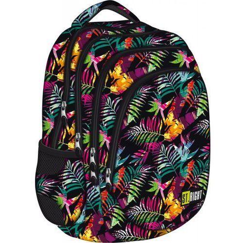 Plecak młodzieżowy tropical island bp-06 st.right marki St.-majewski