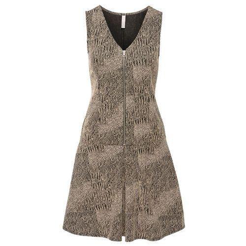 Bonprix Sukienka  brązowy melanż