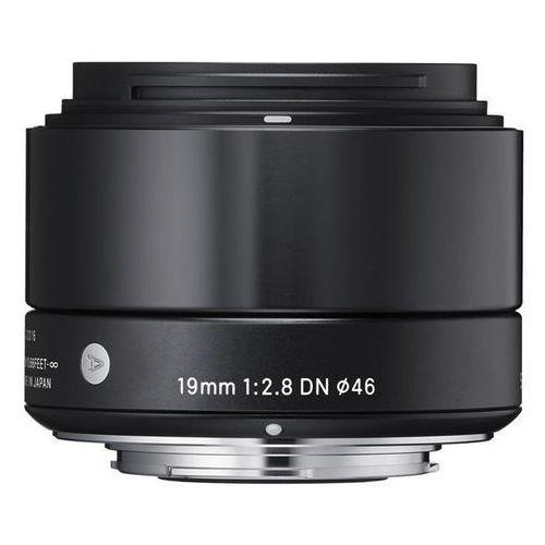 Obiektyw SIGMA 19mm F2.8 DN A Czarny (Sony) (0085126929749)