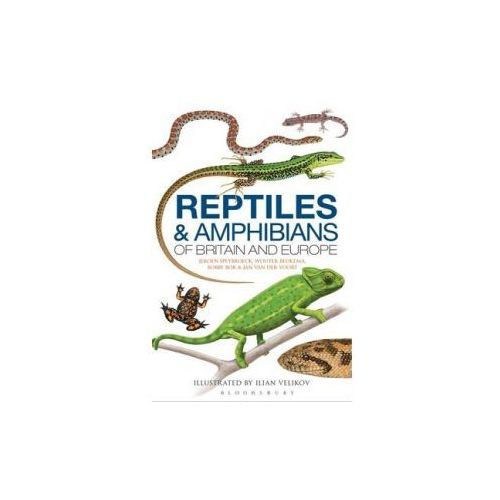 Field Guide to the Amphibians and Reptiles of Britain and Europe (9781408154595)