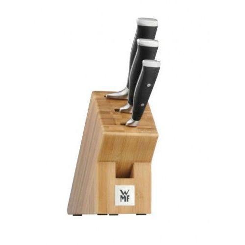 WMF GRAND CLASS 4cz. - zestaw noży, komplet + blok