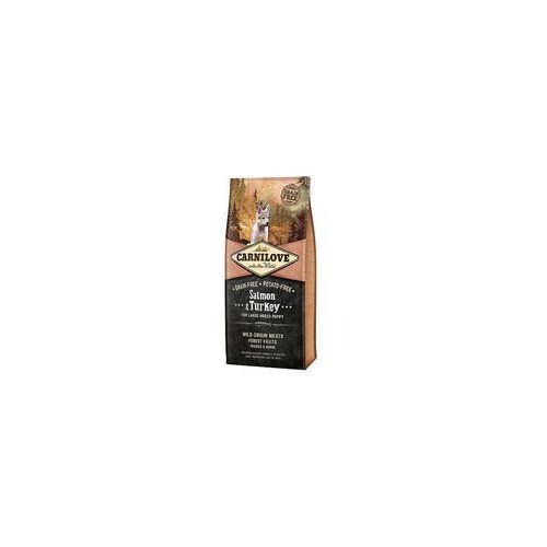 Brit CARNILOVE SALMON & TURKEY LARGE PUPPIES 1,5KG (8595602508853)