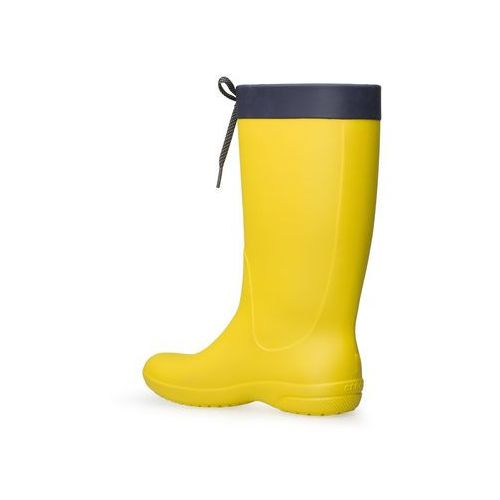 Kalosze Crocs Freesail Rain Boot Lemon 203541-7C1