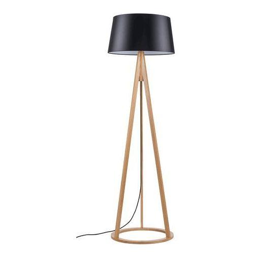Spot Light Konan 6425174 lampa stojąca podłogowa 1x60W E27 dąb olejowany / czarna (5903148486048)