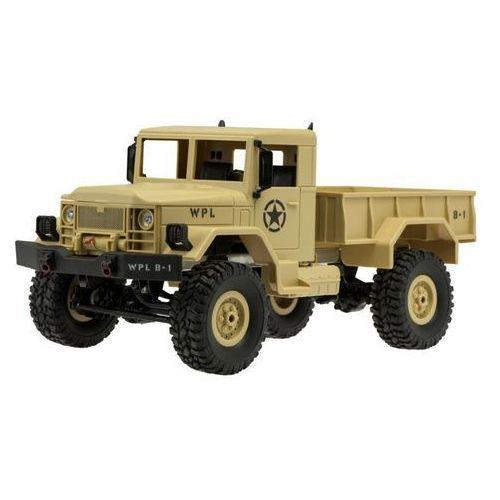 Zdalnie sterowany samochód RC wojskowy pustynny (5903039700581)