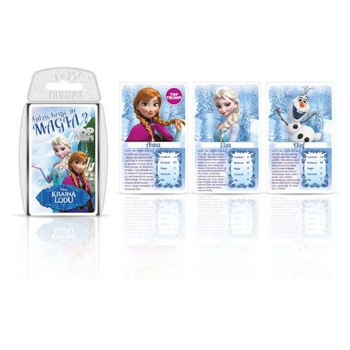 Winning moves Top trumps gra karciana frozen