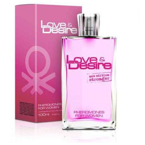 Love&desire 100ml - perfumy z feromonami dla kobiet | letnia wyprzedaż marki Sexual health series