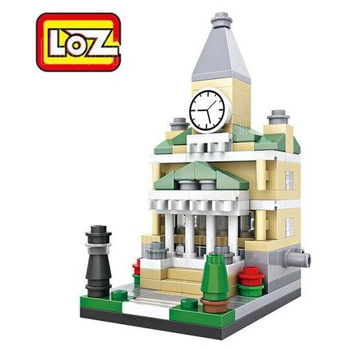 Gearbest Loz street view architecture abs cartoon building brick
