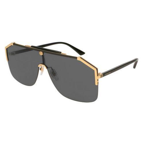 Okulary Słoneczne Gucci GG 0291S 001, kolor żółty