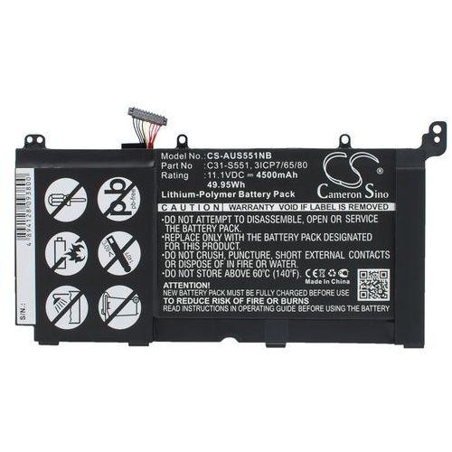 Asus VivoBook S551L / C31-S551 4500mAh 49.95Wh Li-Polymer 11.1V (Cameron Sino) (4894128093800)