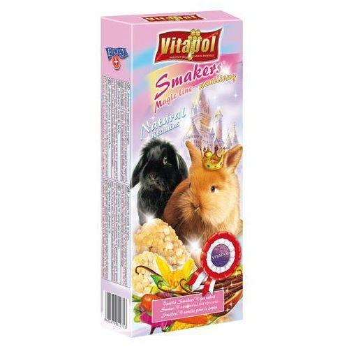 Vitapol  kolby dla królika z wanilią magic line, 2 sztuki