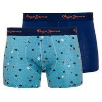 Pepe Jeans 2 pack bokserki męskie Marshall S niebieski (5026696073871)