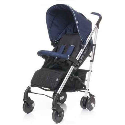 Wózek spacerowy  croxx - navy blue marki 4baby