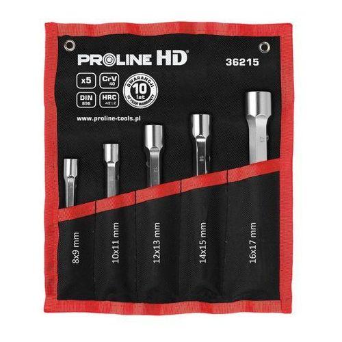 Proline klucze rurowe dwustronne crv, 5szt, 8-17mm, prolinehd
