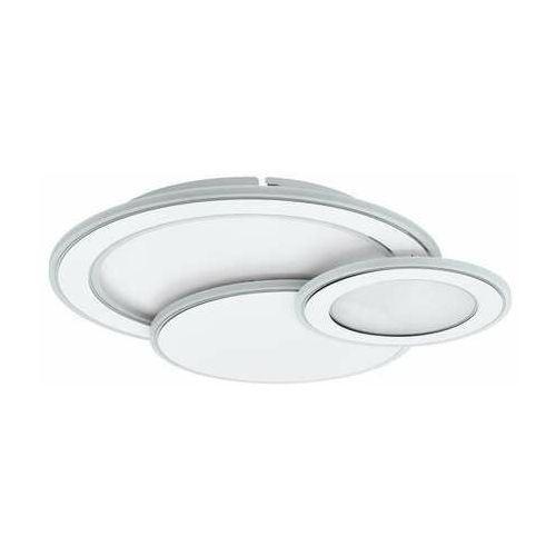 Eglo Mentalurgia 99397 kinkiet/plafon lampa ścienna/sufitowa 40W LED biały/chrom (9002759993979)