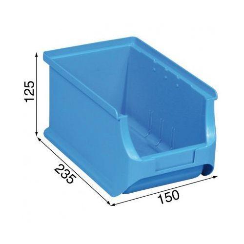 Allit Warsztatowe pojemniki z tworzywa sztucznego - 150 x 235 x 125 mm