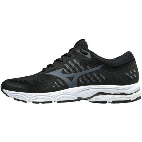 Mizuno Wave Stream Buty do biegania Mężczyźni czarny UK 10,5 | EU 45 2018 Szosowe buty do biegania, kolor czarny