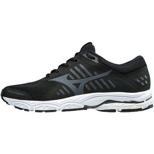 wave stream buty do biegania mężczyźni czarny uk 8 | eu 42 2018 buty szosowe marki Mizuno