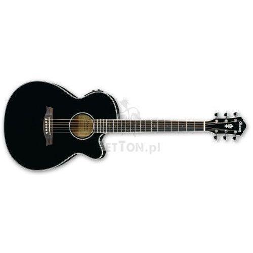 Ibanez Aeg10ii-bk black - gitara elektroakustyczna (4515110852488)