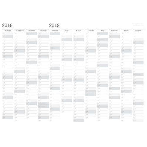 Planer ROK SZKOLNY 2018/2019 suchościeralny A0 SC