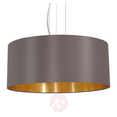 Eglo 31608 - Lampa wisząca MASERLO 3xE27/60W/230V, kolor Złoty