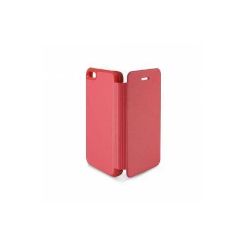 KSIX Etui FOLIO dedykowane do Apple iPhone 5C - różowe Odbiór osobisty w ponad 40 miastach lub kurier 24h, towar z kategorii: Futerały i pokrowce do telefonów