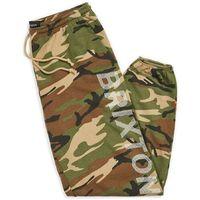 spodnie dresowe BRIXTON - Tread Sweatpant Woodland Camo (WOODC) rozmiar: L, 1 rozmiar
