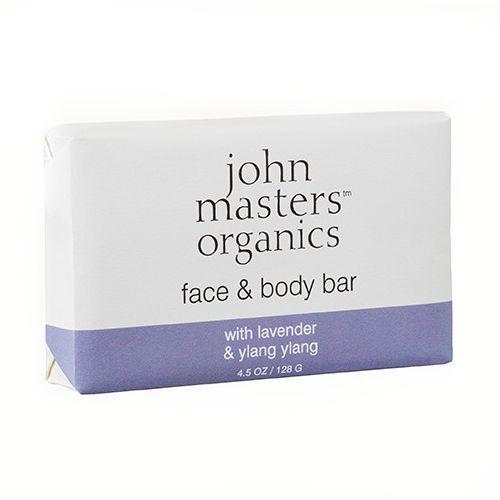 John Masters Organics Lavender and Ylang-Ylang | Mydło nawilżające 128g