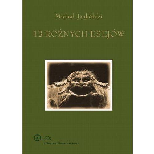 13 RÓŻNYCH ESEJÓW TW/WOLTERS (555 str.)