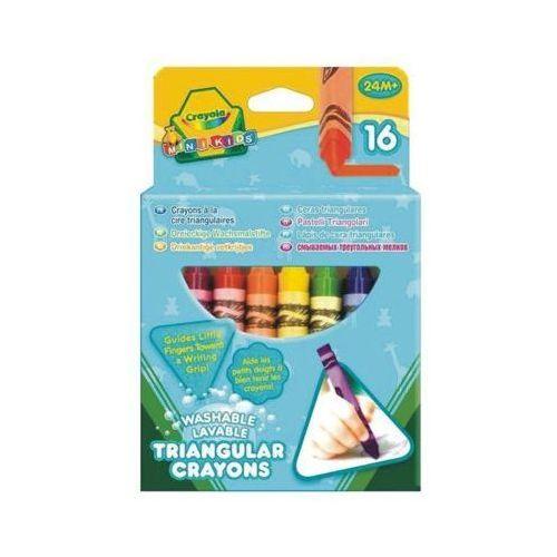Kredki świecowe trójkątne 16 sztuk - darmowa dostawa od 199 zł!!! marki Crayola