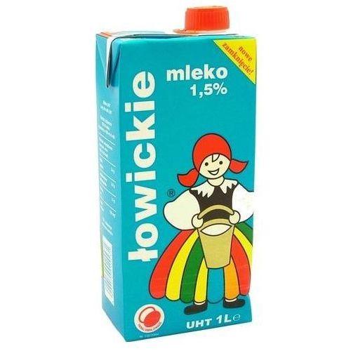 Mleko ŁOWICKIE 1l. 1,5% (nabiał)