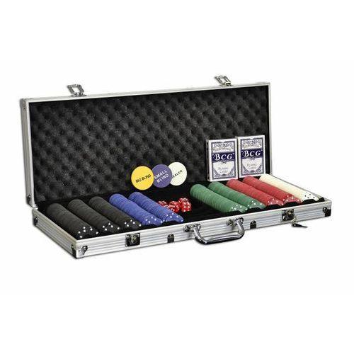 OKAZJA - Garthen Zestaw do pokera 500 szt żetonów z akcesoriami