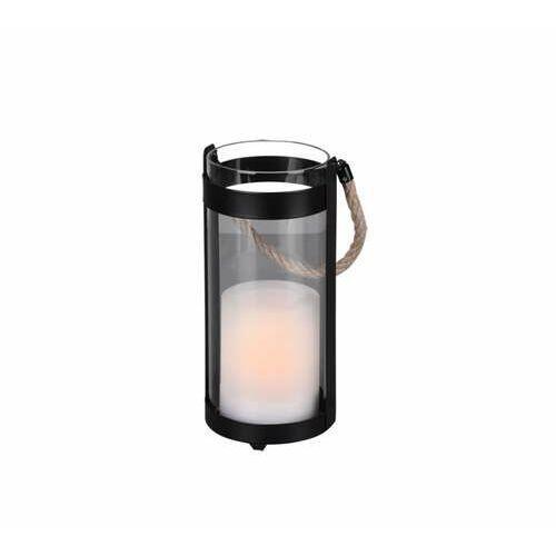 Trio rl minas r55146132 lampa stojąca ogrodowa 1x1w led czarna/transparentna