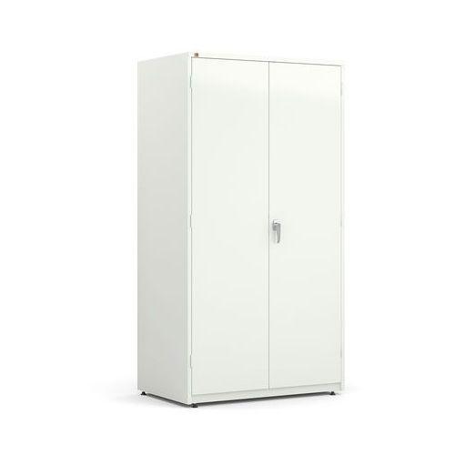 Szafa warsztatowa, 1900x1020x635 mm, biały, 205062