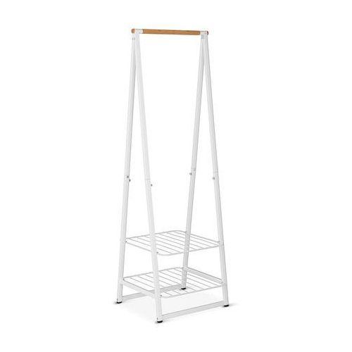 Brabantia - Wieszak na ubrania z półkami, 60,00 cm, biały - biały, 118227