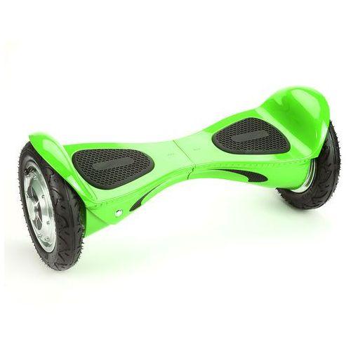 deskorolka elektryczna offroad auto balance z aplikacją mobilną i głośnikiem bt, zielona marki Kolonožka