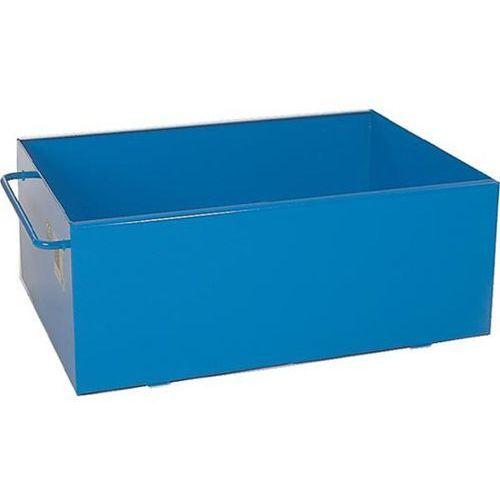 Ibs scherer Wanna wychwytowa ze stali, lakierowanie: niebieski, poj. 200 l.