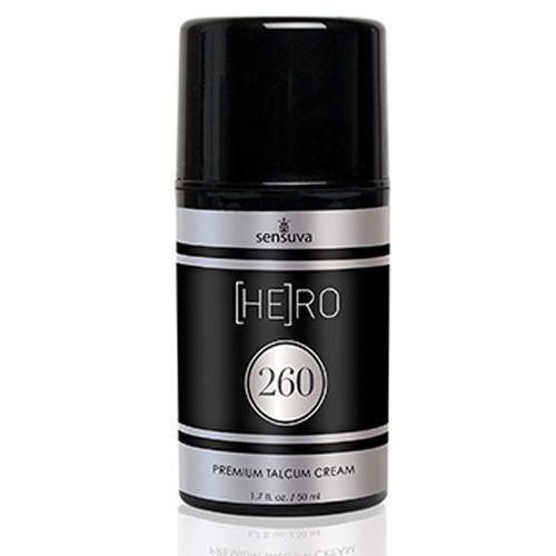 Krem pielęgnacyjny dla mężczyzn - Sensuva HE(RO) 260 Talcum Cream For Men 50 ml