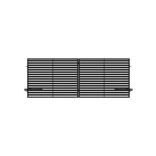 Metalkas Brama dwuskrzydłowa 400 x 150 cm z automatem nerosystem (5907666203538)