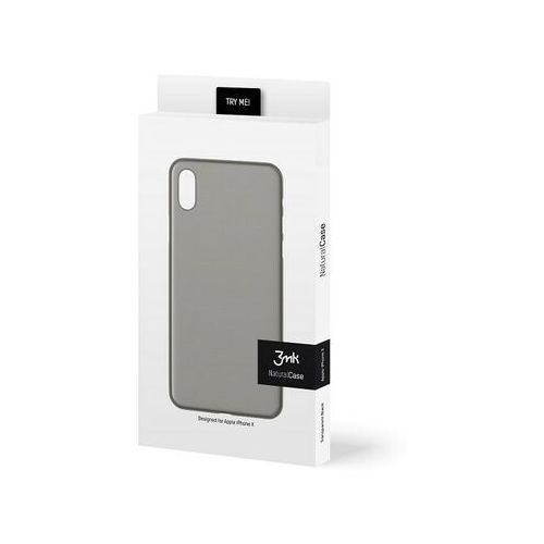 etui nc iphone 11 pro max czarny black, natural case marki 3mk