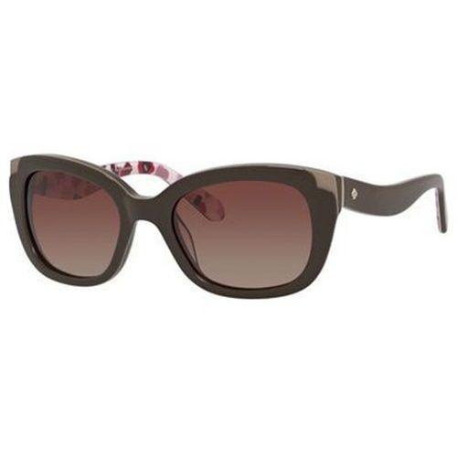 Okulary słoneczne danella/p/s polarized w53p wr marki Kate spade