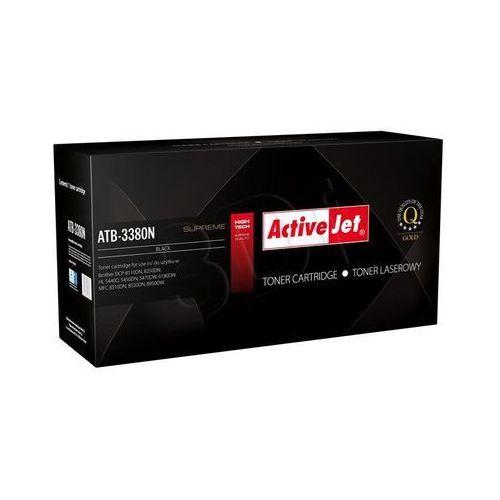 atb-3380n toner black do drukarki brother (zamiennik brother tn-3380) supreme wyprodukowany przez Activejet