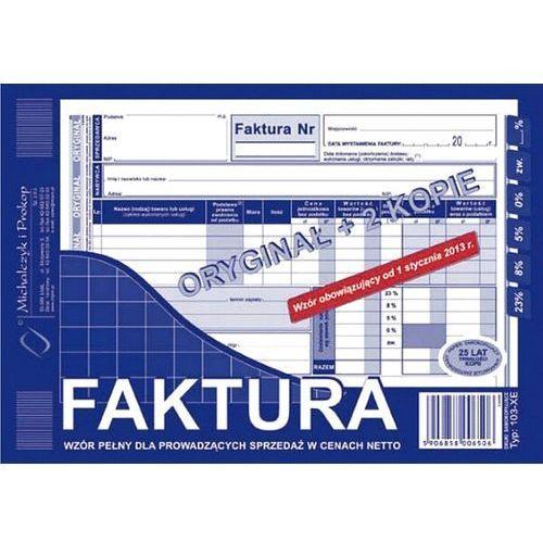 Michalczyk i prokop Faktura vat a5 typ 103-xe 80k (o+2k)