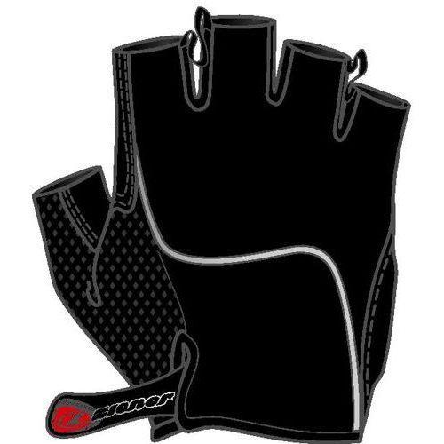 Rękawiczki rowerowe Ziener Chan czarne - czarne